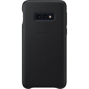 Official Samsung Leather Cover Samsung Galaxy S10e - Black