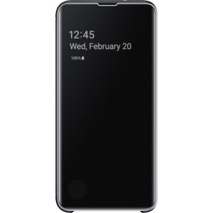Official Samsung Clear View Cover Samsung Galaxy S10e - Black