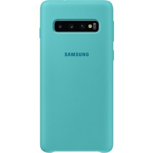 Official Samsung Θήκη Σιλικόνης Samsung Galaxy S10 - Green