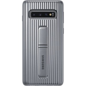 Official Samsung Protective Standing Cover Samsung Galaxy S10 - Silver