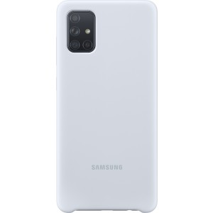 Official Samsung Θήκη Σιλικόνης Samsung Galaxy A71 - White