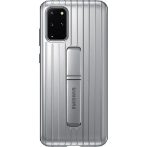 Official Samsung Protective Standing Cover Samsung Galaxy S20 Plus - Silver