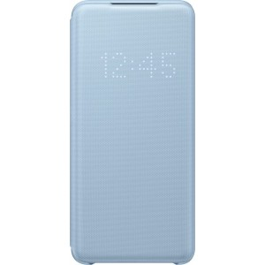 Official Samsung Led View Cover Samsung Galaxy S20 - Sky Blue