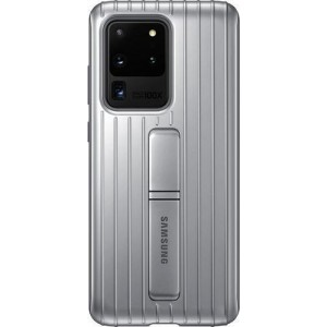 Official Samsung Protective Standing Cover Samsung Galaxy S20 Ultra - Silver