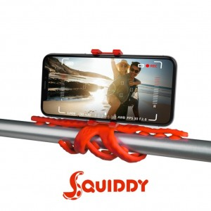 Celly Squiddy Flexible Μίνι Τρίποδο - Κόκκινο