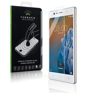 Terrapin Tempered Glass - Αντιχαρακτικό Γυάλινο Screen Protector Nokia 3