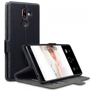 Terrapin Θήκη - Πορτοφόλι Low Profile Nokia 7 Plus - Black