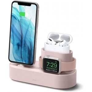 Elago Charging Hub για iPhone / AirPods Pro / Apple Watch - Sand Pink