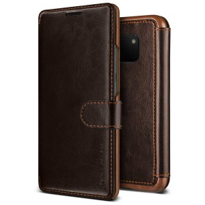 VRS Design Dandy Layered Θήκη - Πορτοφόλι Huawei Mate 20 Pro - Dark Brown