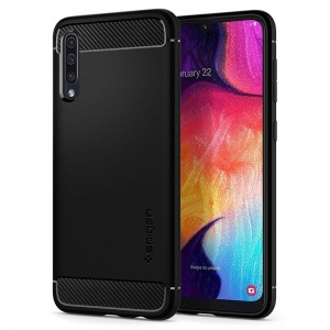 Spigen Θήκη Rugged Armor Samsung Galaxy A50 - Matte Black