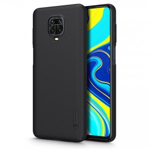 Nillkin Θήκη Super Frosted Shield Xiaomi Redmi Note 9S / 9 Pro / 9 Pro Max & Kickstand - Black