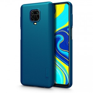 Nillkin Θήκη Super Frosted Shield Xiaomi Redmi Note 9S / 9 Pro / 9 Pro Max & Kickstand - Blue