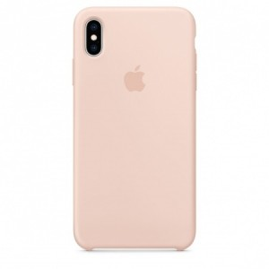 Apple Official Silicon Cover - Θήκη Σιλικόνης iPhone XS Max - Pink Sand