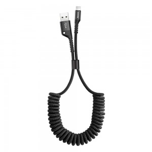 Baseus Fish Eye Spring Data Cable - Καλώδιο USB σε Lightning 2A - 1m