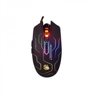 Bloody Q80 Neon XGlide USB Gaming Mouse - Maze
