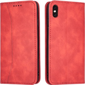 Bodycell Θήκη - Πορτοφόλι Apple iPhone XS Max - Red