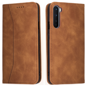 Bodycell Θήκη - Πορτοφόλι OnePlus Nord - Brown