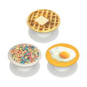 PopSocket Popminis Breakfast Club - White - 3 Τεμάχια