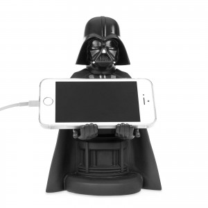 Exquisite Gaming Cable Guys Phone & Controller Holder - Darth Vader