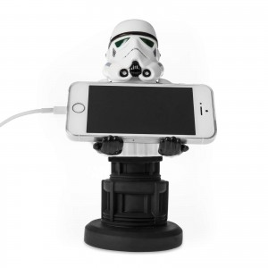 Exquisite Gaming Cable Guys Phone & Controller Holder - Stormtrooper & Καλώδιο 3m 3in1