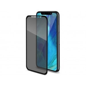 Celly Premium Αντιχαρακτικό Privacy Tempered Glass - iPhone XR - Black