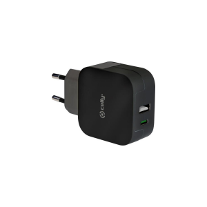 Celly Wall Charger - USB-C - Black