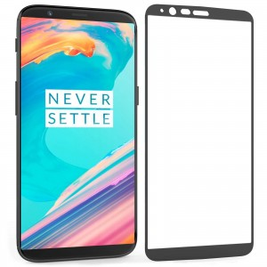 Centopi Tempered Glass - Αντιχαρακτικό with Black Edge Γυαλί Οθόνης OnePlus 5t