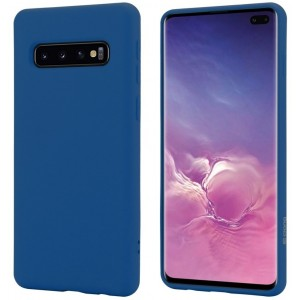 Crong Color Θήκη Premium Σιλικόνης Samsung Galaxy S10 Plus - Blue