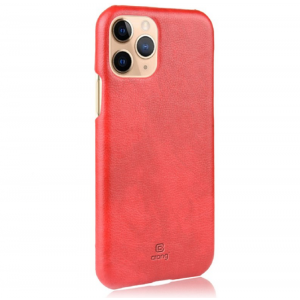 Crong Essential Cover - Σκληρή Θήκη Apple iPhone 11 Pro Max - Red