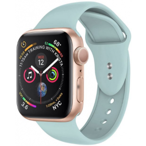 Crong Liquid Λουράκι Premium Σιλικόνης Apple Watch 5/4/3/2/1 (40/38mm) - Mint