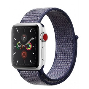 Crong Nylon Λουράκι Apple Watch 5/4/3/2/1 (40/38mm) - Midnight Blue