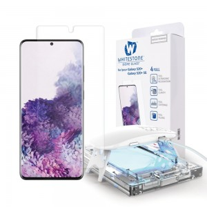 Whitestone Dome Glass - Liquid Optical Clear Adhesive & Installation Kit - Σύστημα Προστασίας Οθόνης Samsung Galaxy S20 Plus