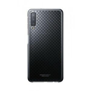 Samsung Official Ultra -Thin and Light Gradation Cover - Σκληρή Θήκη Samsung Galaxy A7 2018 - Gradient Black