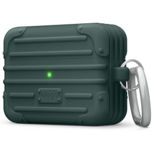 Elago AirPods Suit Case - Θήκη Σιλικόνης για AirPods Pro - Midnight Green