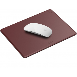 Elago Leather Mouse Pad - Δερμάτινο Mouse Pad - Burgundy