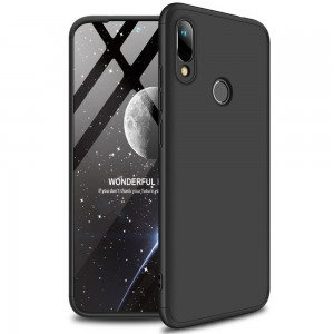 GKK Θήκη Hybrid Full Body 360° Huawei Y6 2019 - Black