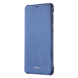 Huawei Official Flip Cover - Σκληρή Θήκη για Huawei P Smart 2018 - Blue