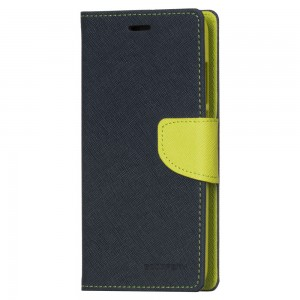 Mercury Fancy Diary Θήκη-Πορτοφόλι Xiaomi Redmi Note 4/4X - Navy Lime