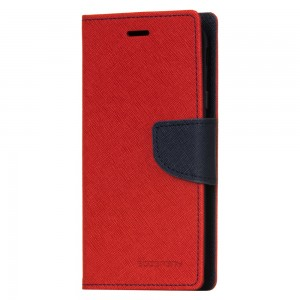 Mercury Fancy Diary Θήκη-Πορτοφόλι Xiaomi Redmi Note 4/4X - Red Navy