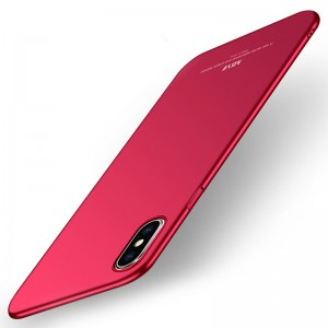 MSVII Super Slim Σκληρή Θήκη PC iPhone X / XS - Red