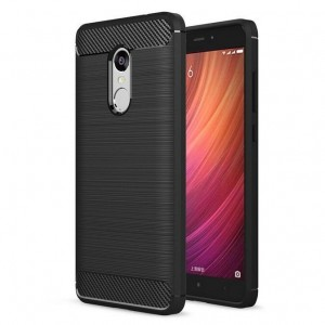Θήκη TPU Carbon Xiaomi Redmi Note 4X - Black - OEM (10634)