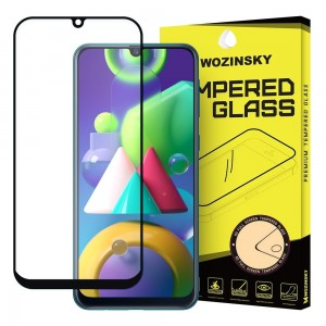 Wozinsky Tempered Glass - Fullface Αντιχαρακτικό Γυαλί Οθόνης Samsung Galaxy M21 - Black