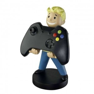 Exquisite Gaming Cable Guys Phone & Controller Holder - Fallout Vault Boy