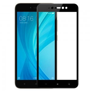 RedShield Tempered Glass - Fullface Αντιχαρακτικό Γυαλί Οθόνης Xiaomi Redmi Note 5A - Black