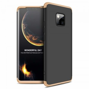 GKK Θήκη Hybrid Full Body 360° Huawei Mate 20 Pro - Black Gold