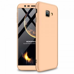 GKK Θήκη Hybrid Full Body 360° Samsung Galaxy J4 Plus 2018 - Gold