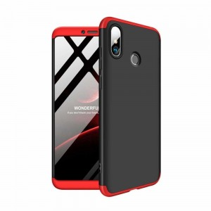 GKK Θήκη Hybrid Full Body 360° Xiaomi Mi Max 3 - Black Red