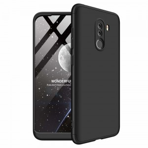 GKK Θήκη Hybrid Full Body 360° Xiaomi Pocophone F1 - Black