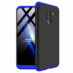 GKK Θήκη Hybrid Full Body 360° Xiaomi Pocophone F1 - Black Blue
