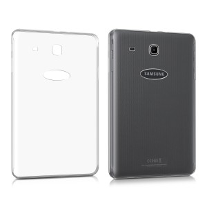 KW Θήκη Σιλικόνης  Samsung Galaxy Tab E 9.6'' - Transparent